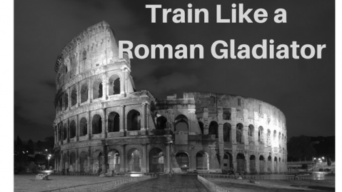 roman gladiators training