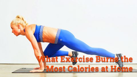 What exercise burns the most calories at home
